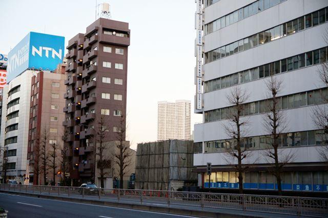 山手線新駅周辺の様子 2016.1.9