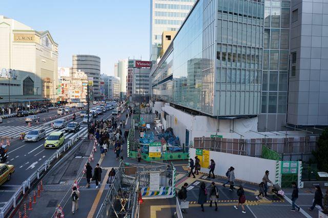「新宿駅南口地区基盤整備事業」 2016.1.16