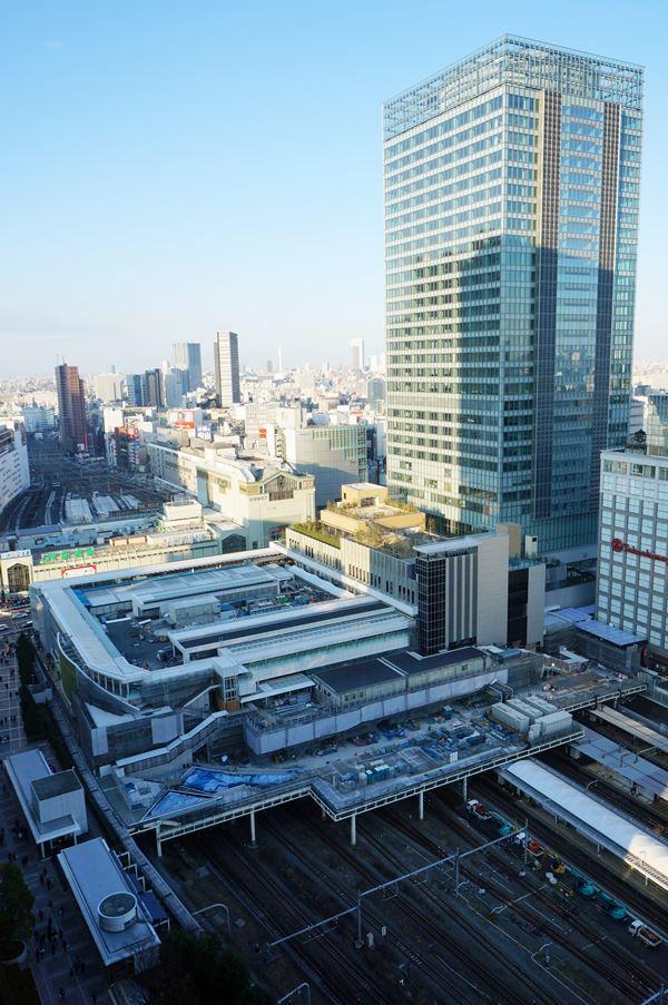 「JR新宿ミライナタワー」 2016.1.16