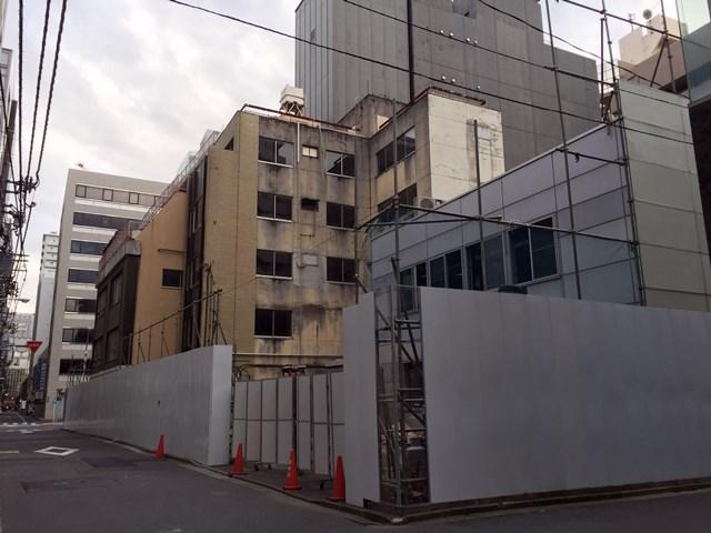 「丹青社本社跡地」 2015.12.27