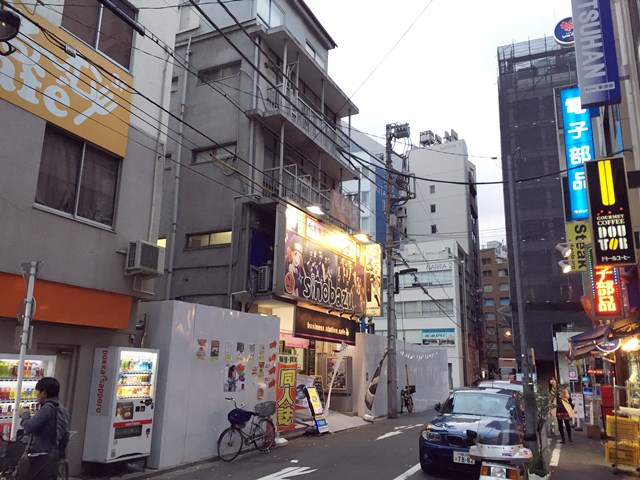 「ヤマギワ・リビナ本館跡地」 2015.12.27