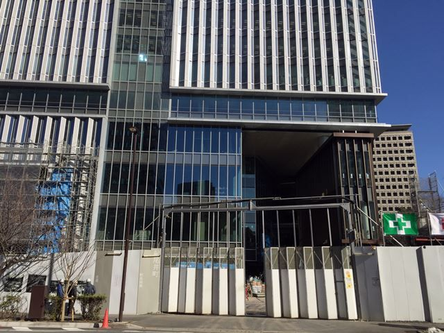 「東京ガーデンテラス紀尾井町」 2016.1.22