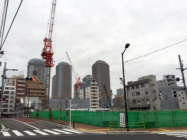 「パークシティ中央湊 ザ タワー」 2016.1.30