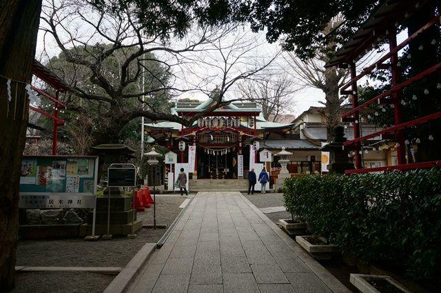 居木神社 2016.1.31