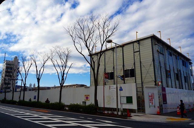 「パークシティ武蔵小杉 ザ ガーデン」((仮称)武蔵小杉二丁目開発計画) 2016.2.21
