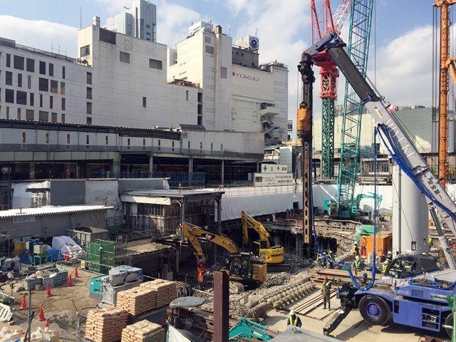 「渋谷駅街区開発計画東棟」 2016.2.4