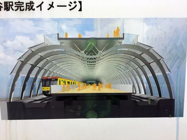 銀座線渋谷駅移設工事 2016.2.4