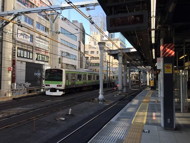 「渋谷駅埼京線移設工事」 2016.2.11