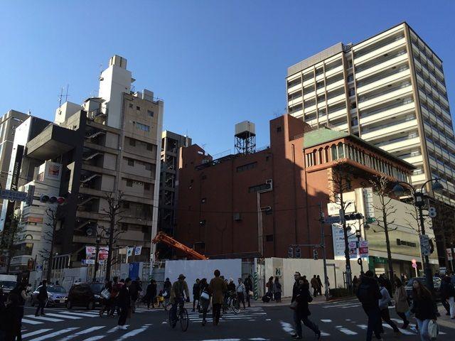 「(仮称)渋谷公園通り計画新築工事」 2016.2.11