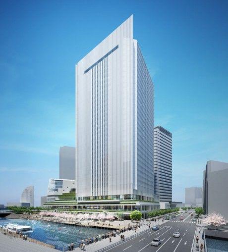横浜市役所 イメージ図 (出典:ヨコハマ経済新聞)
