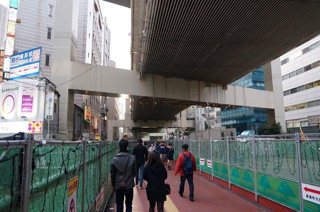 鶴屋橋架替工事 2016.2.21