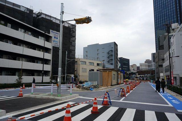 「東京都市計画道路放射第25号線(新小川町区間)」 2016.3.5