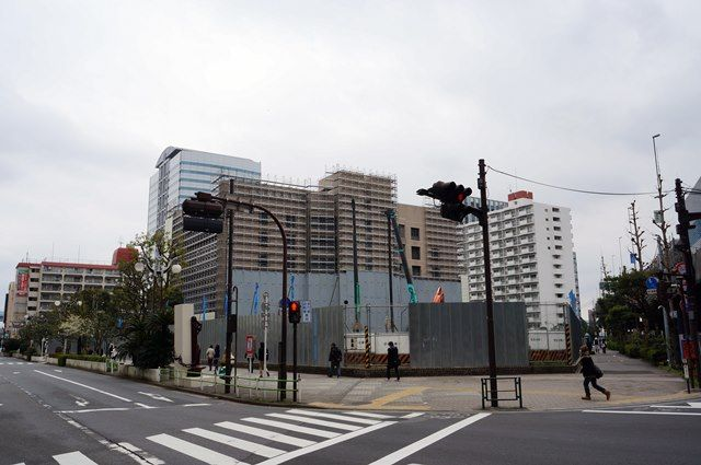 「(仮称)竹芝地区開発計画建築計画(業務棟)新築工事」 2016.3.12