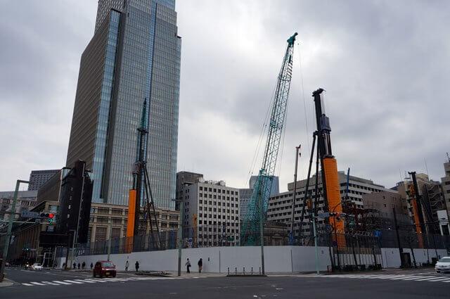 日本橋室町三丁目地区第一種市街地再開発事業A地区新築工事 2016.3.12