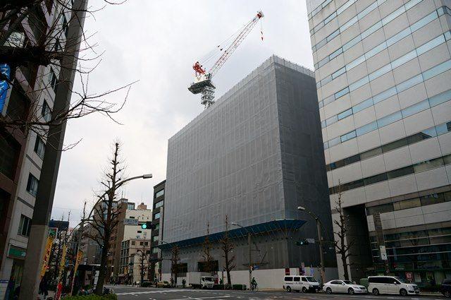 (仮称)オリックス上野一丁目ビル新築工事 2016.3.12