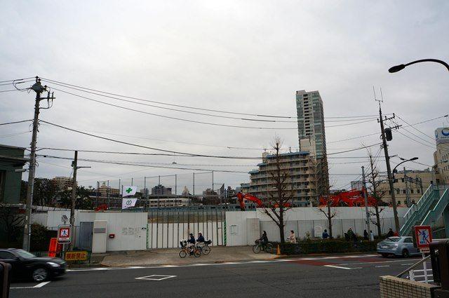 リニア中央新幹線 「北品川変電施設」 2016年3月13日