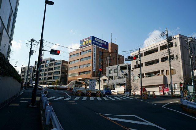 「諏訪通り立体交差工事」(都市計画道路補助74号線)  2016.3.21