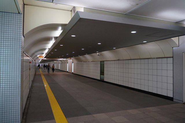新宿東南口地下道 2016.3.21