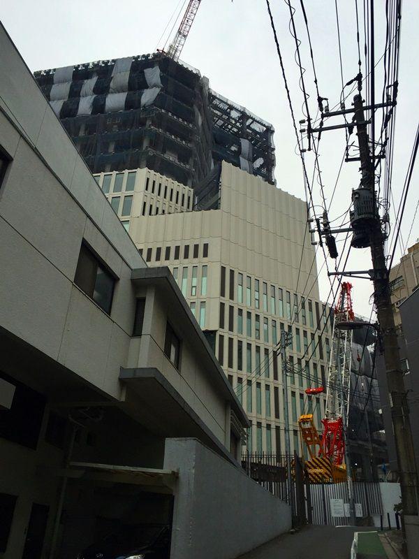 「上智大学四谷キャンパス6号館(ソフィアタワー) 建設工事」 2016.3.10