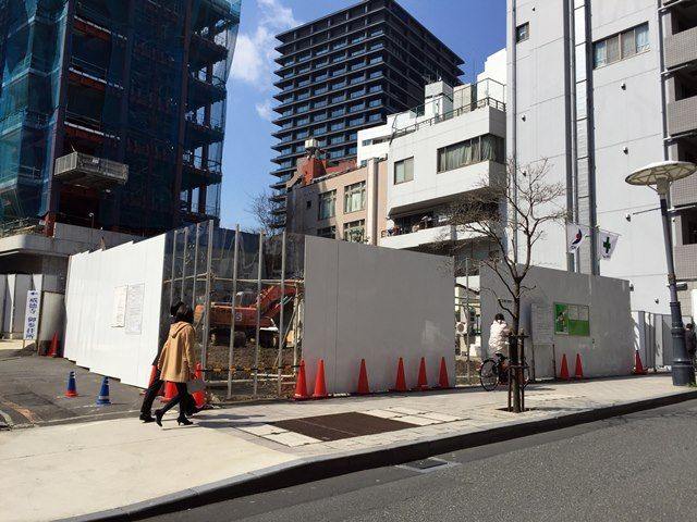 ドンキホーテホールディングスの「(仮称)赤坂4丁目店舗」 2016.3.15