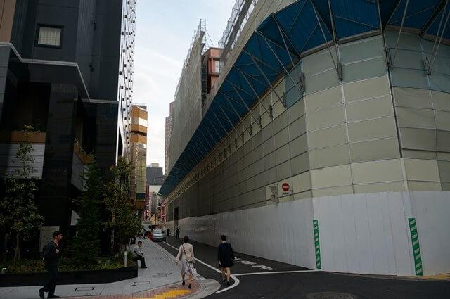 「新宿ミラノ座」解体工事 2016.4.9