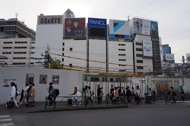 新宿駅東西自由通路 2016.4.9