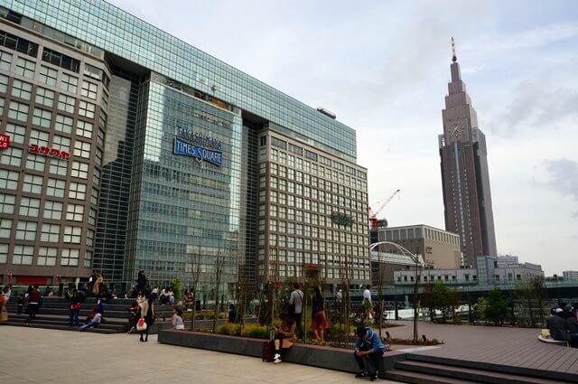 新宿駅新南口 2016.4.9