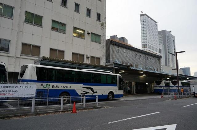 ジェイアールバス 高速バス乗り場 2016.4.9