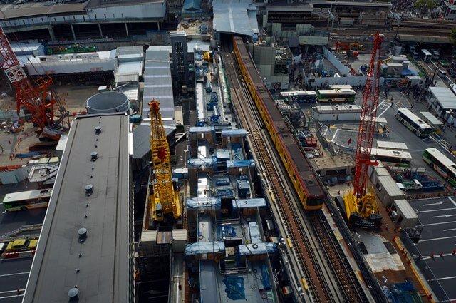 「銀座線渋谷駅移設工事」 2016.4.16