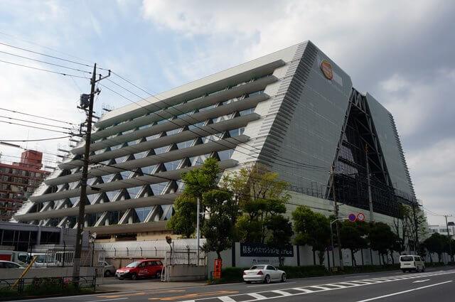 旧「バンダイナムコ未来研究所」 2016.4.23