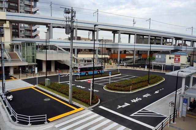「京急蒲田駅東口駅前広場」 2016.4.23