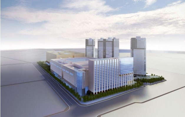 「ARIAKE Garden City(仮称)」(有明北3-1地区計画) イメージ図 (出典:首相官邸)