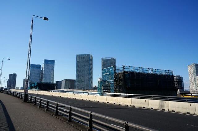 「首都高速10号晴海線」  晴海大橋 2016.4.29