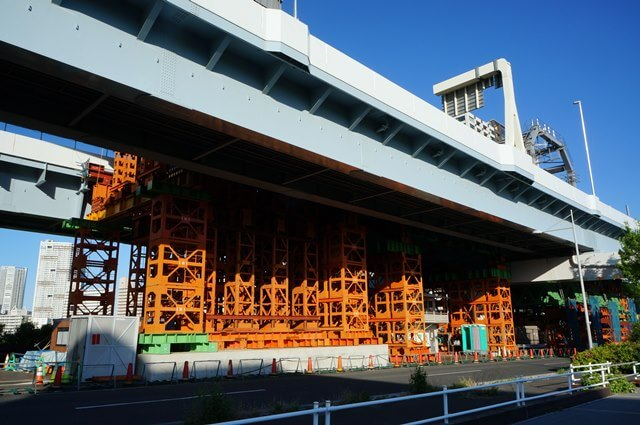 「首都高速10号晴海線」  木遣り橋 2016.4.29
