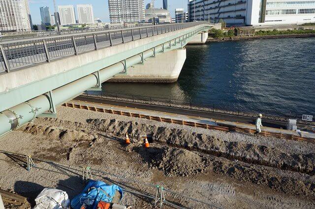 富士見橋の下 2016.4.29