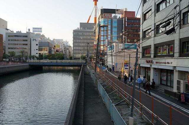 横浜ビブレ前 屋台跡地 2016.4.30