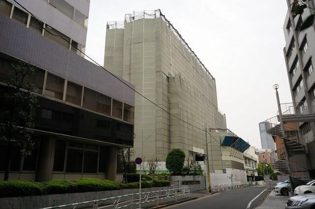 旧渋谷区役所 2016年5月上旬