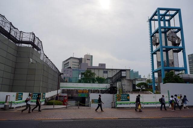 「渋谷公会堂」 2016年5月上旬