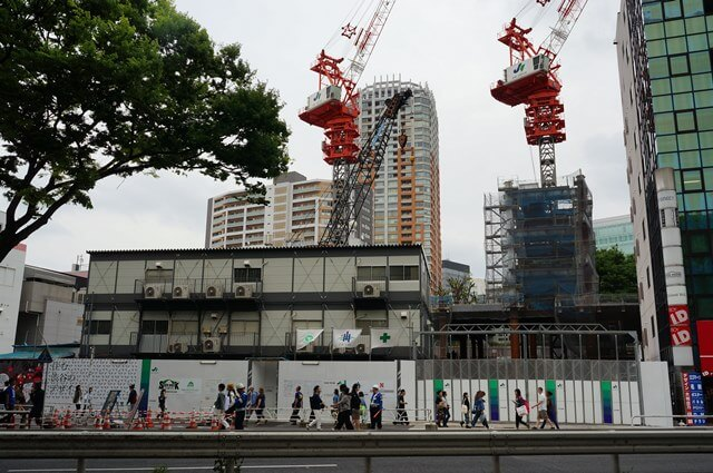 「渋谷宮下町計画」 2016年5月上旬撮影