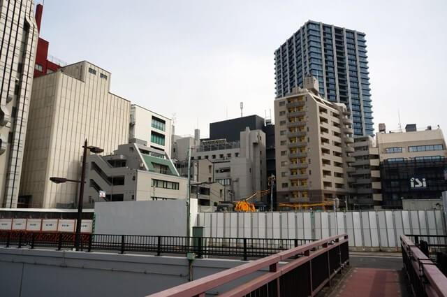 「西武鉄道池袋ビル建替え工事」 2016年5月上旬