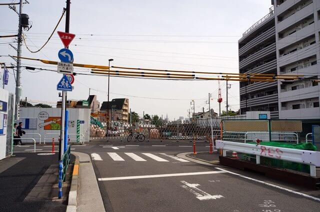 「環状第5の1号線(豊島区雑司が谷)」 2016年5月上旬