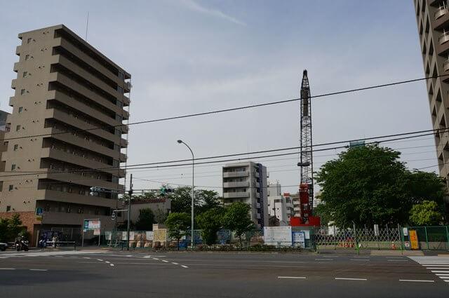 環状四号線 新宿区西早稲田三丁目から文京区目白台二丁目 2016年5月上旬