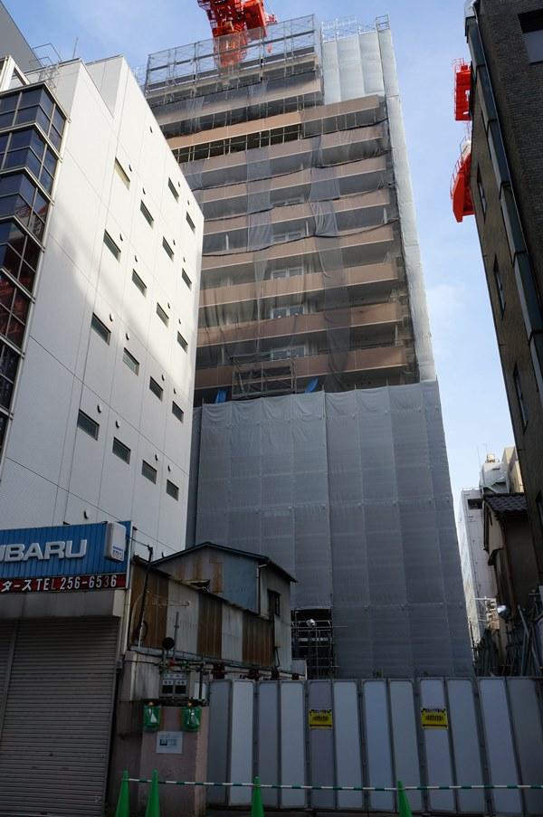 「(仮称)区営東松下町住宅新築工事」 2016年5月上旬