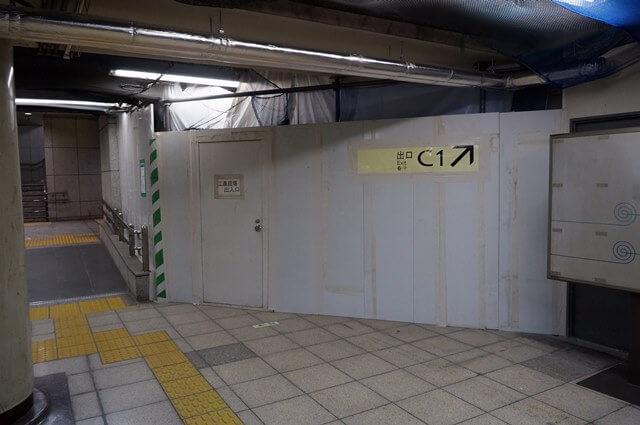 大手町地下通路 2016.5.14