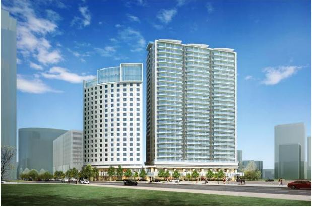 MM59街区B区画開発計画 イメージ図 (出典:横浜市)