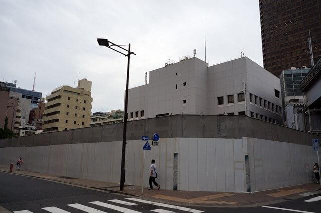 浜松町駅西口開発A街区 2016年6月上旬