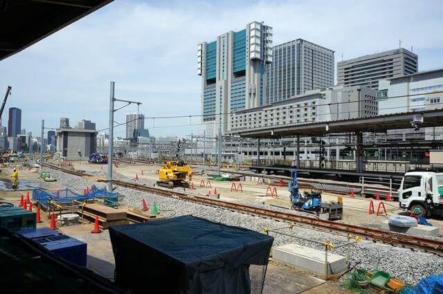 品川駅 6番線、7番線ホーム 2016.6.11