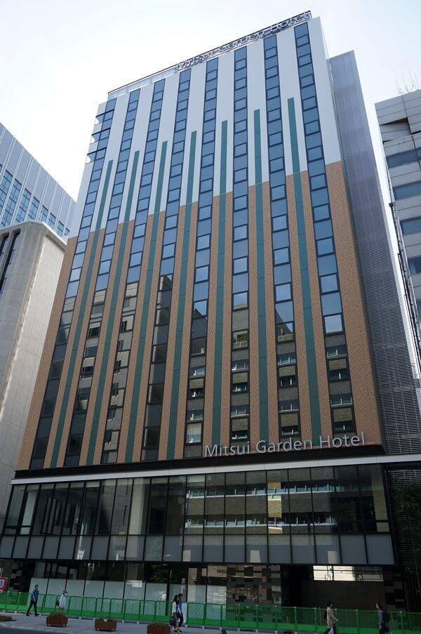 「三井ガーデンホテル 京橋」 2016.6.11