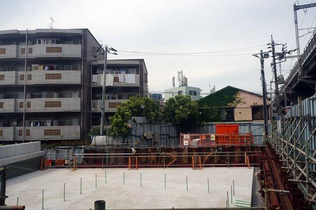 品川区の「都市計画道路補助26号線」 2016.6.12