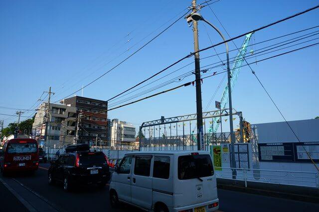 新綱島駅周辺 2016.6.18